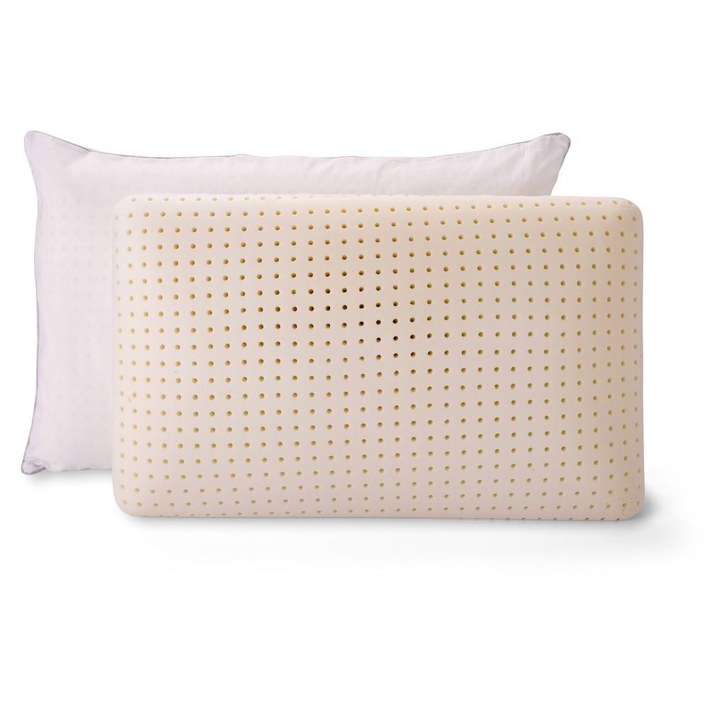 Low Profile Memory Foam Pillow 2pk - Authentic Comfort, White