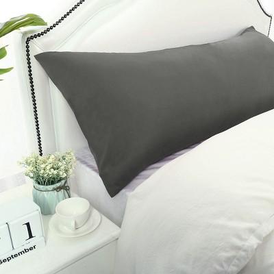 "1 Pc Body 20""x72"" 1800 Series Soft Brushed Microfiber Pillowcase Grey - PiccoCasa"