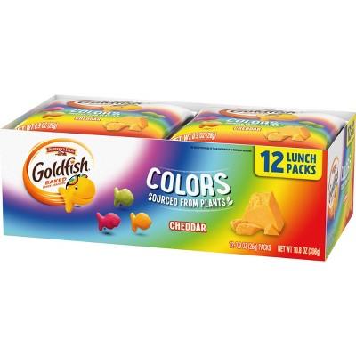 Pepperidge Farm Goldfish Colors Cheddar - 12ct