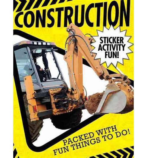 Construction Site Activity Book (Paperback) (Libby Walden) - image 1 of 1