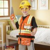 Melissa & Doug Construction Worker Role Play Costume Dress-Up Set (6pc) - image 2 of 4