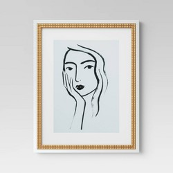 "16""x20"" Line Drawing Wall Print - Opalhouse™"