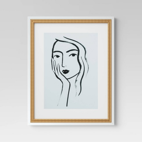 """16""""x20"""" Line Drawing Wall Print - Opalhouse™ - image 1 of 4"""
