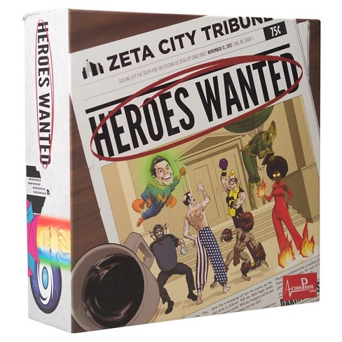 Heroes Wanted Board Game - image 1 of 5