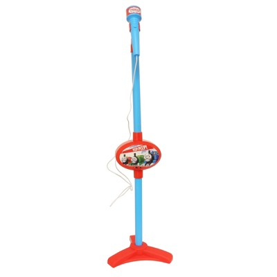 Spiderman Adjustable Karaoke Microphone Stand with Microphone