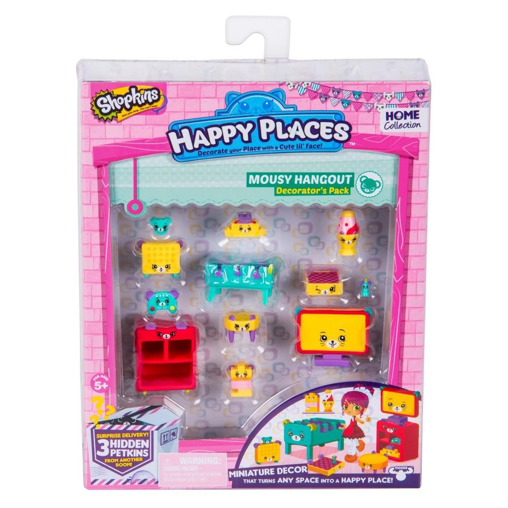 Happy Places Shopkins Decorator Pack - Mousy Hangout