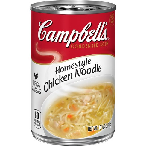 Campbell's® Condensed Homestyle™ Chicken Noodle Soup 10.5 oz - image 1 of 5