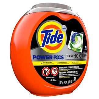 Tide Hygienic Clean Heavy 10x Duty Power PODS Original Laundry Detergent Liquid Pacs - 41ct