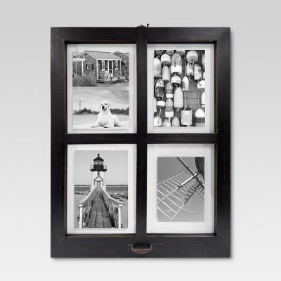 Windowpane Frame - Distressed Black - Threshold™