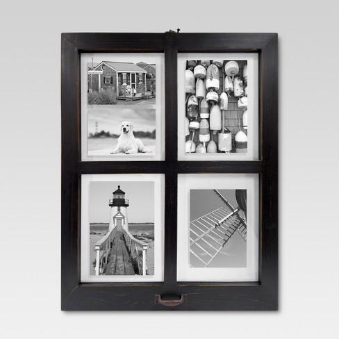 Windowpane Frame - Distressed Black - Threshold™ : Target