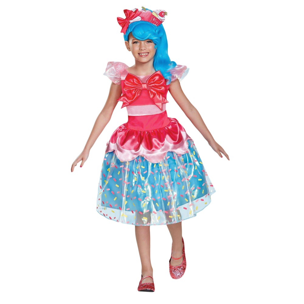 Image of Halloween Girls Shopkins Shoppies Jessicake Deluxe Costume S(4-6X), Girl's, Size: Small, MultiColored
