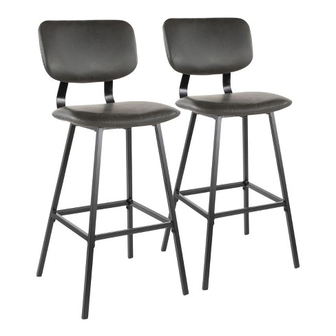 Set of 2 Foundry Contemporary Barstool - LumiSource - image 1 of 4