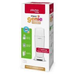 Diaper Genie Complete Assembled Diaper Pail - White