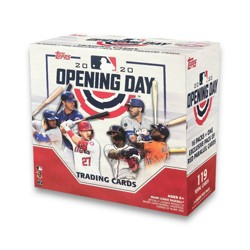 MLB Opening Day Baseball Trading Card Blaster Box