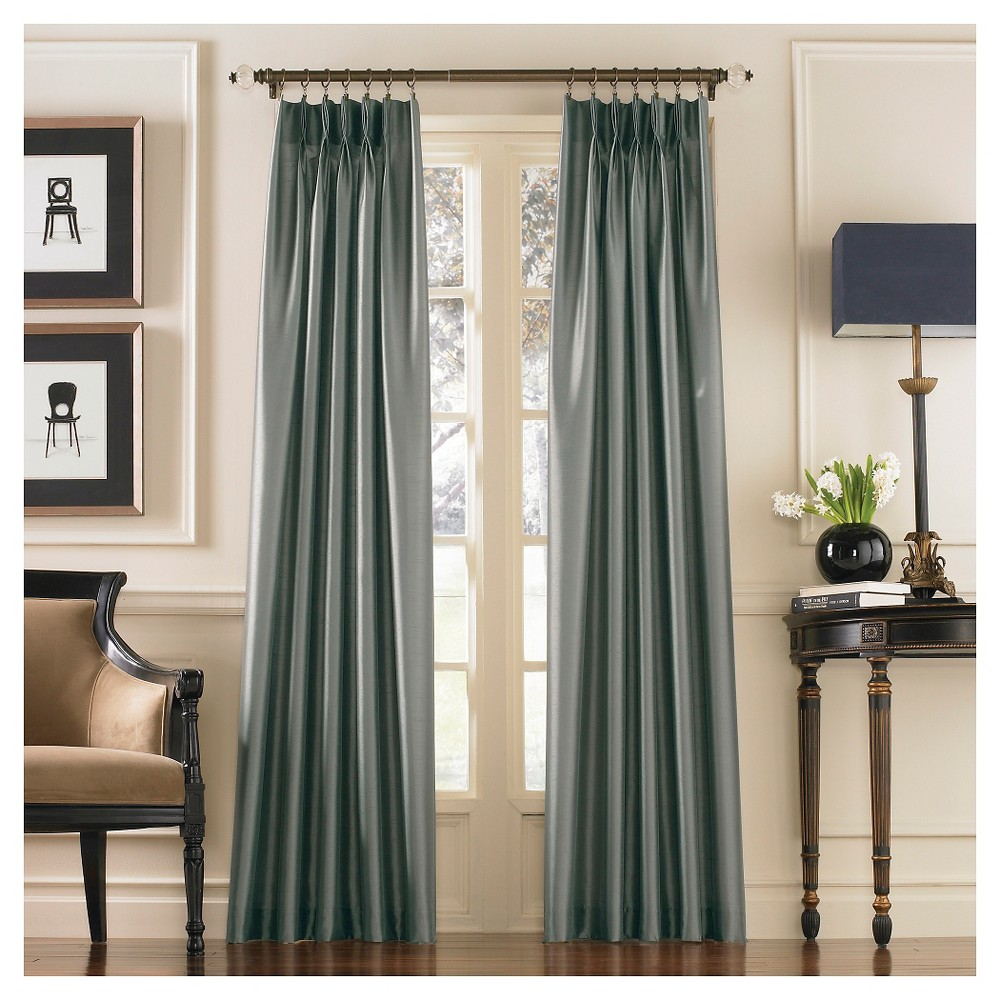"Image of ""Curtainworks Marquee Lined Curtain Panel - Teal (95""""), Blue"""