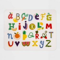 "18"" x 14"" Plastic Alphabet Placemat - Pillowfort™"