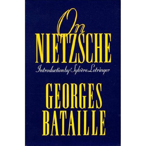 On Nietzsche - by  Georges Bataille (Paperback) - image 1 of 1