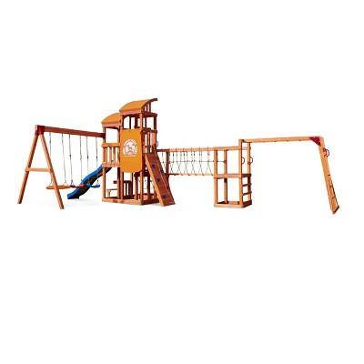 Little Tikes Real Wood Adventures Bobcat Ridge Outdoor Playset