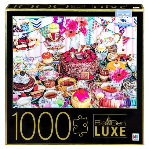 Big Ben Luxe: Tea Party Puzzle 1000pc - image 1 of 1