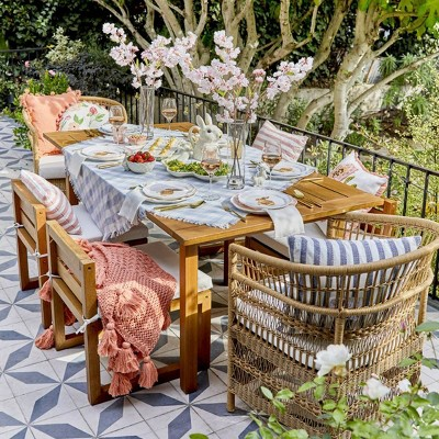 Springtime Brunch Patio Ideas Styled by Emily Henderson