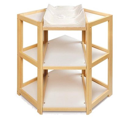 Merveilleux Natural Diaper Corner Baby Changing Table