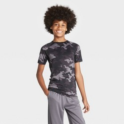 Boys' Short Sleeve Fitted Performance T-Shirt - All in Motion™