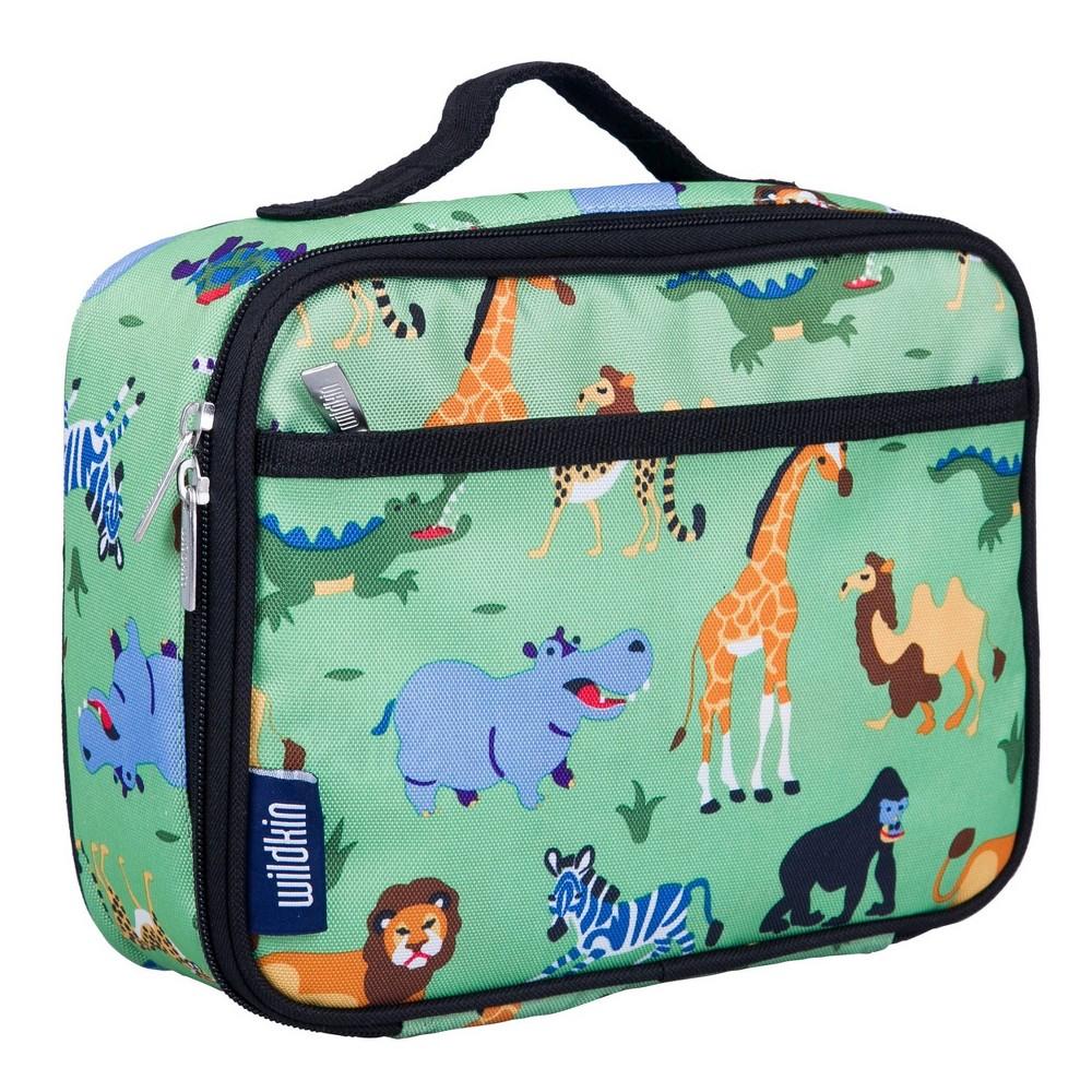 Wildkin Olive Kids 39 Wild Animals Lunch Box
