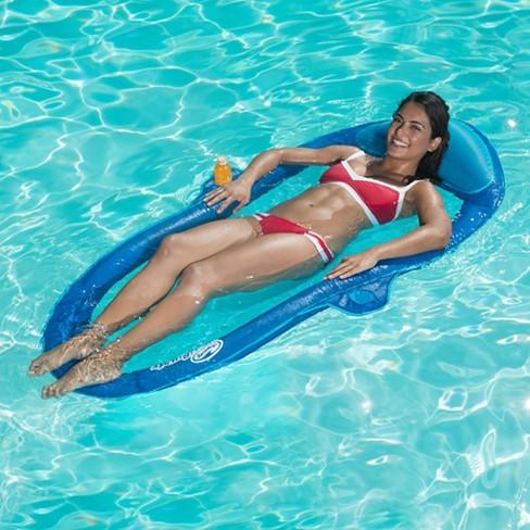 Swimways Inflatable Spring Suncatcher Hammock Pool Float (Color ...