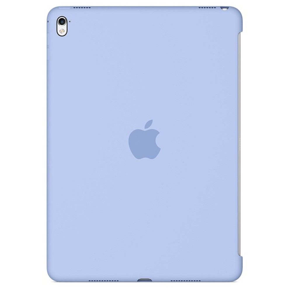 Apple iPad Pro 9.7-inch Silicone Case - Lilac (Purple) The Silicone Case for the 9.7-inch iPad Pro protects the back of your device and is designed to pair seamlessly with the Smart Cover for full front-and-back coverage. The smooth silicone material feels great in your hand and protects your iPad Pro while maintaining its sleek, beautiful design. Color: Lilac. Pattern: Solid.
