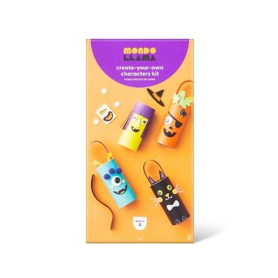 Halloween Character Paper Tube Craft Kit - Mondo Llama™