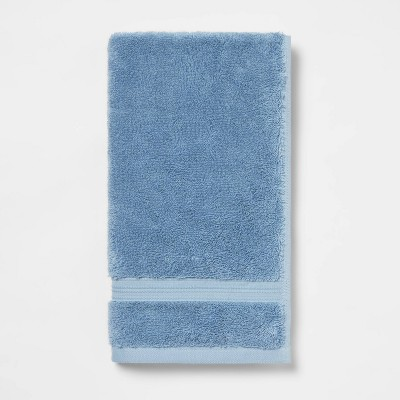 Antimicrobial Hand Towel Blue - Total Fresh