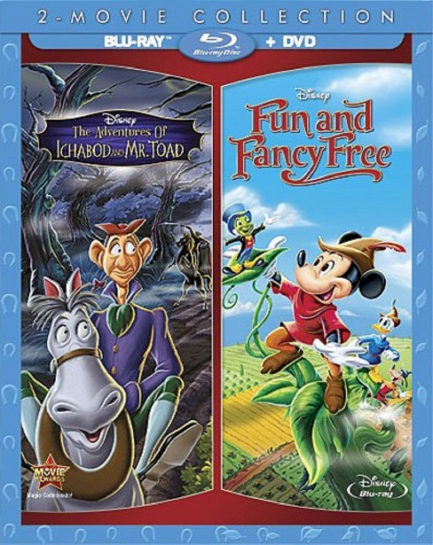 The Adventures of Ichabod and Mr. Toad/Fun and Fancy Free [3 Discs] [Blu-ray/DVD] - image 1 of 1