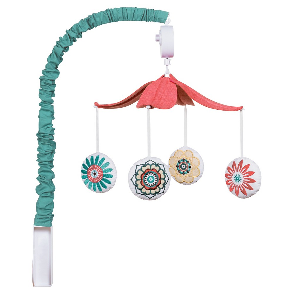 Waverly Baby By Trend Lab Musical Mobile Pom Pom Play
