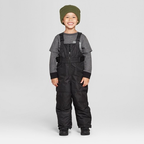 1c6c108ed Toddler Boys  Snow Pants - Cat   Jack™ Black   Target