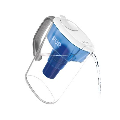 PUR 7 Cup Pitcher Filtration System - Blue/White