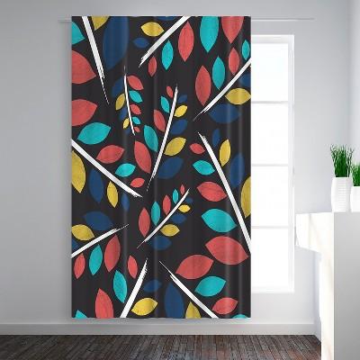 Americanflat By Night by Susana Paz Blackout Rod Pocket Single Curtain Panel 50x84