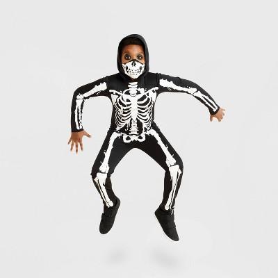 Kids' Skeleton Halloween Costume Jumpsuit - Hyde & EEK! Boutique™