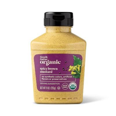 Organic Spicy Brown Mustard - 9oz - Good & Gather™