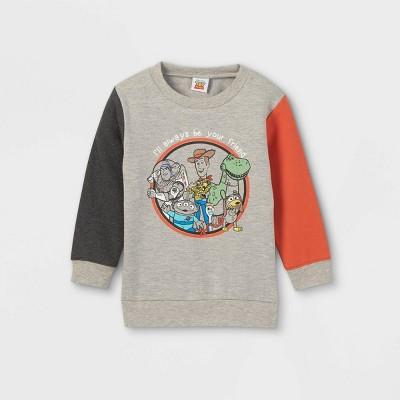 Toddler Boys' Toy Story Fleece Pullover - Gray