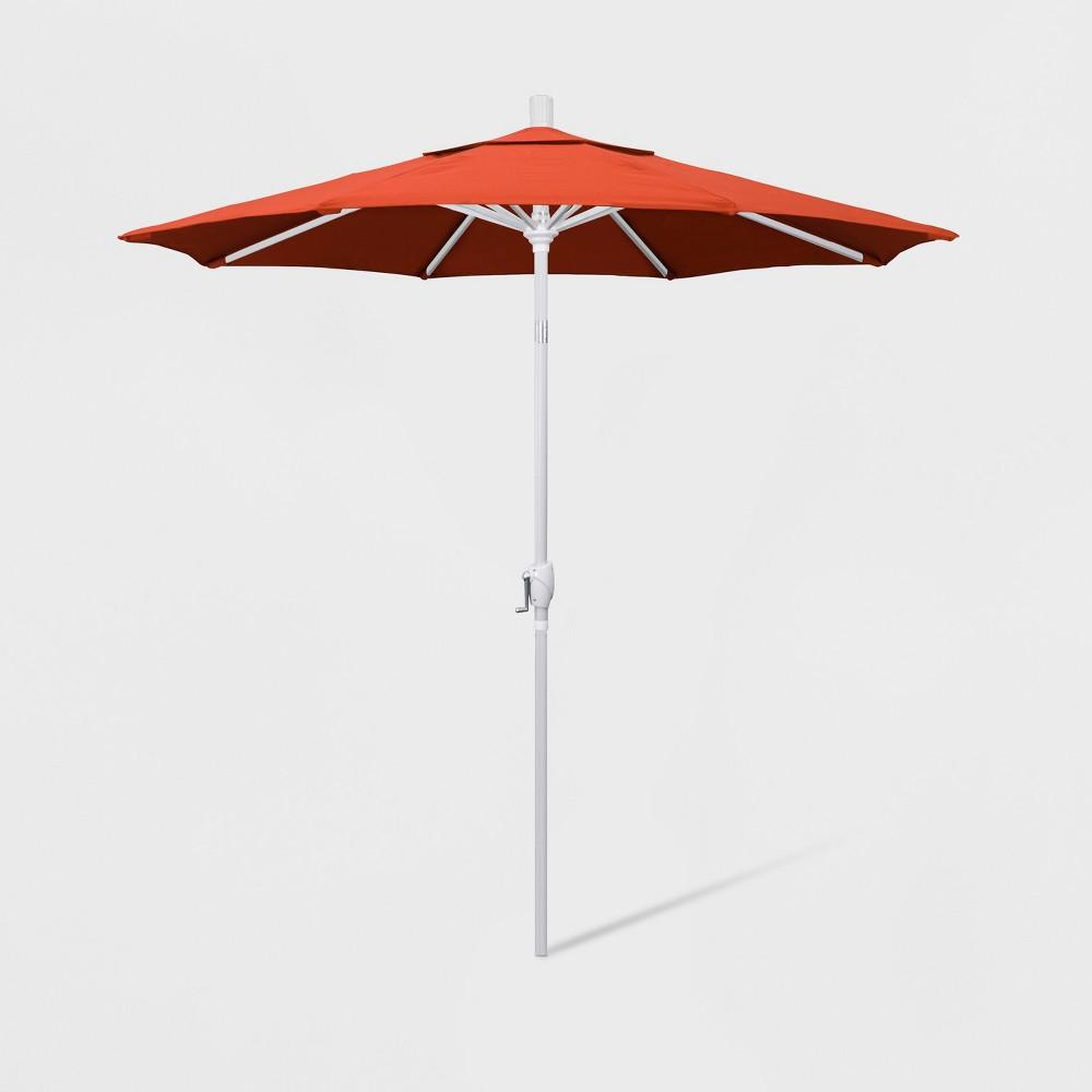 Image of 7.5' Aluminum Push Tilt Patio Umbrella Sunset - California Umbrella