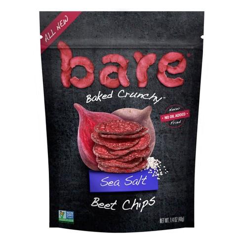 Bare Baked Crunchy Sea Salt Beet Chips - 1.4oz - image 1 of 3