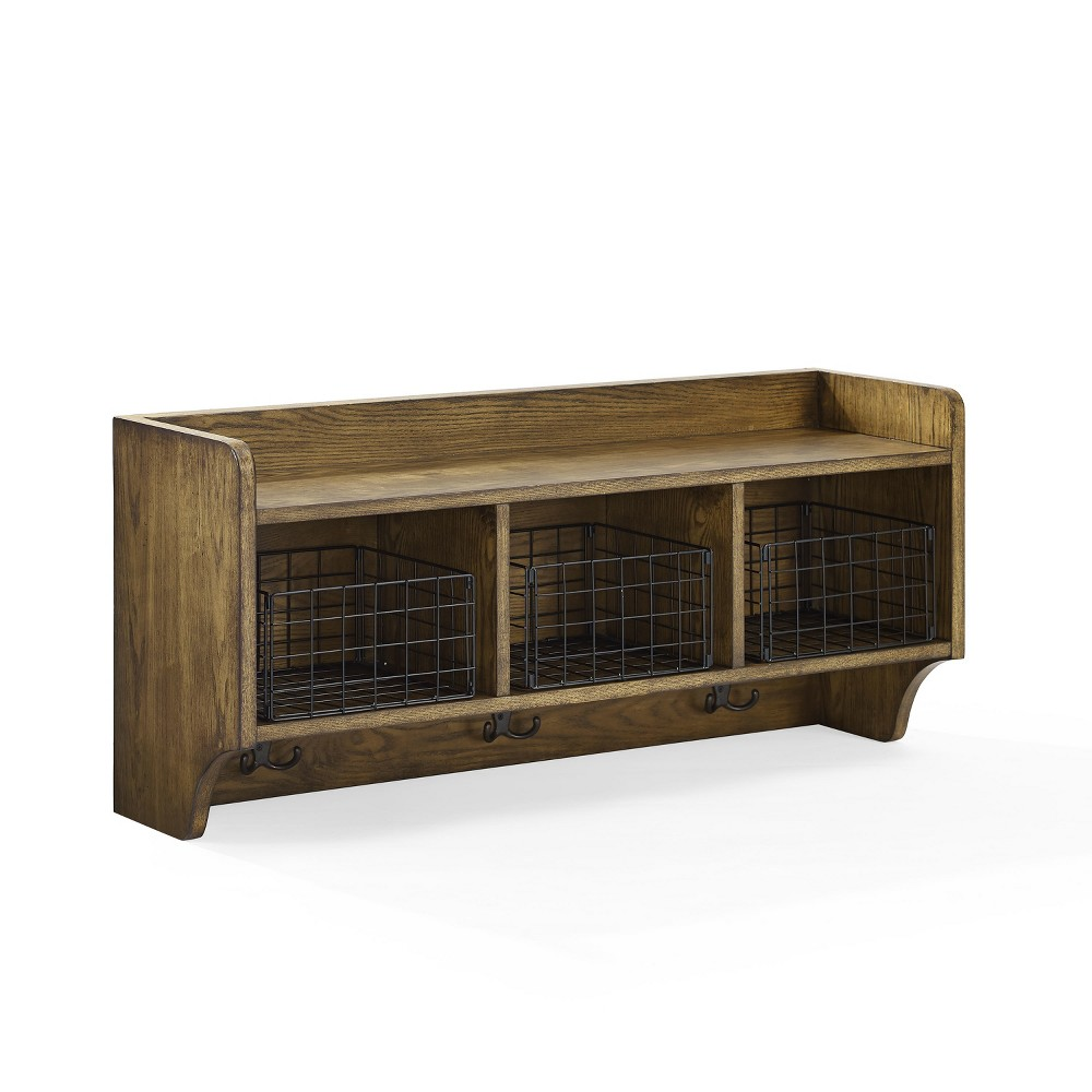 Fremont Entryway Shelf Coffee (Brown) - Crosley