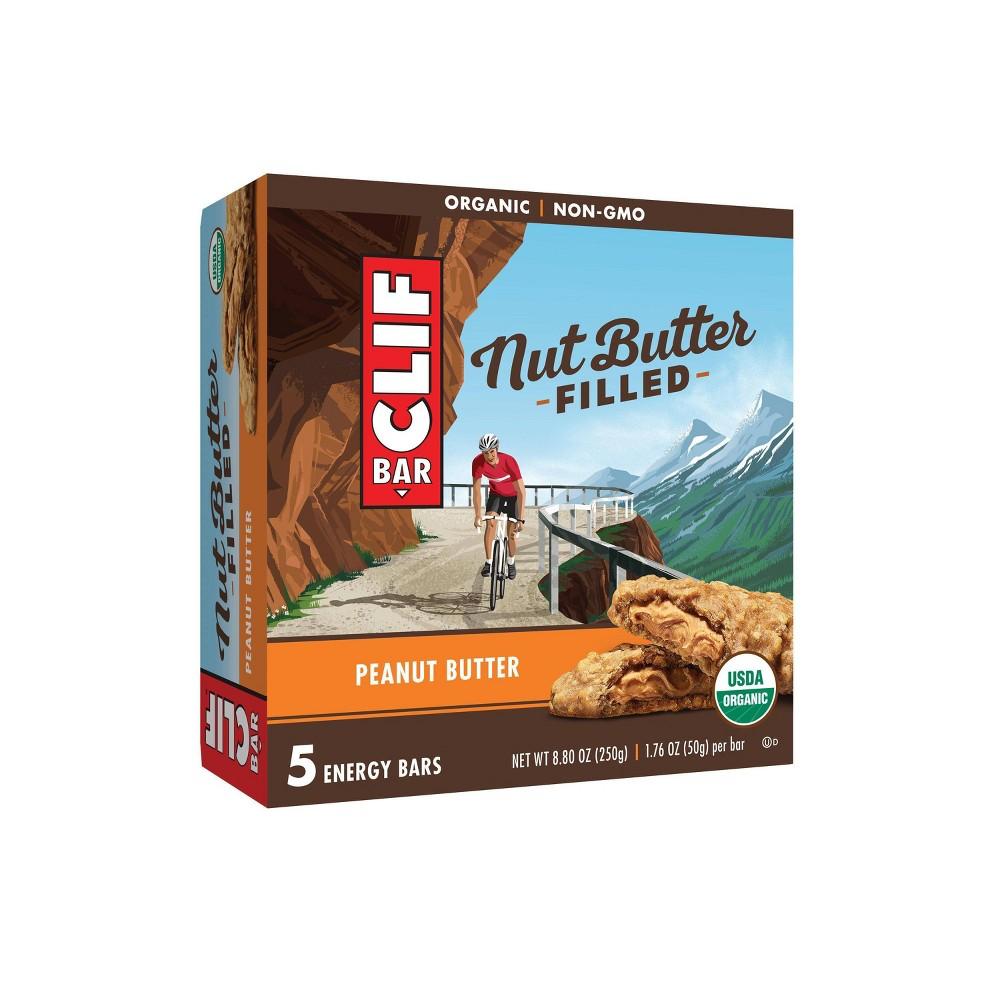 Clif Bar Peanut Butter Filled Energy Bars - 8.8oz