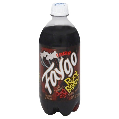 Faygo Draft Style Root Beer - 20 fl oz Bottle - image 1 of 3