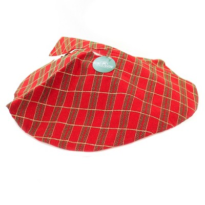 "Christmas 20.0"" Plaid Mini Tree Skirt Spot Clean Only  -  Tree Skirts"
