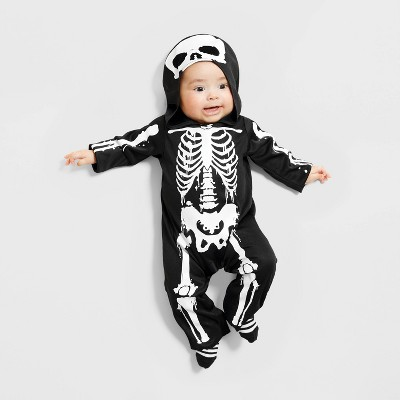 Baby Skeleton Halloween Costume Jumpsuit - Hyde & EEK! Boutique™
