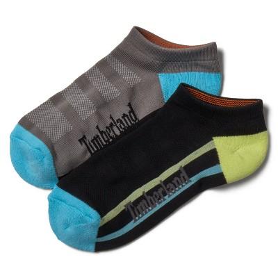 Timberland Women's 2-Pack Striped No-Show Sport Socks