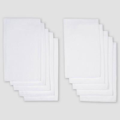 Gerber Baby 10pk Reusable Diaper - White