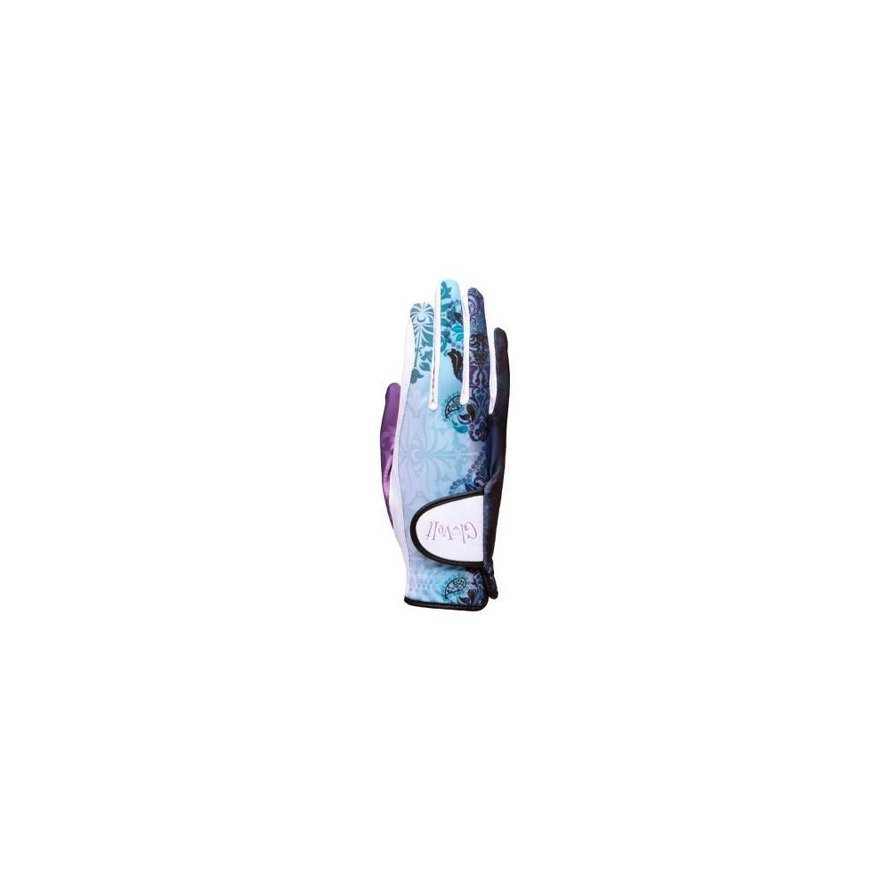 Glove It Women's Lilac Paisley Golf Glove Right Hand - Light Blue S, Multicolored