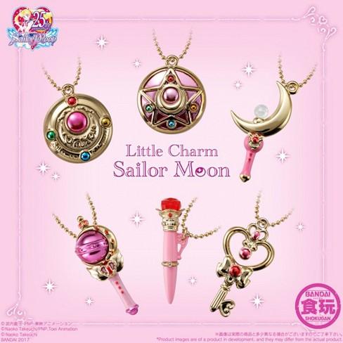 Bandai Shokugan Sailor Moon 25th Assorted Little Charm Keychains - Set of 10 - image 1 of 3